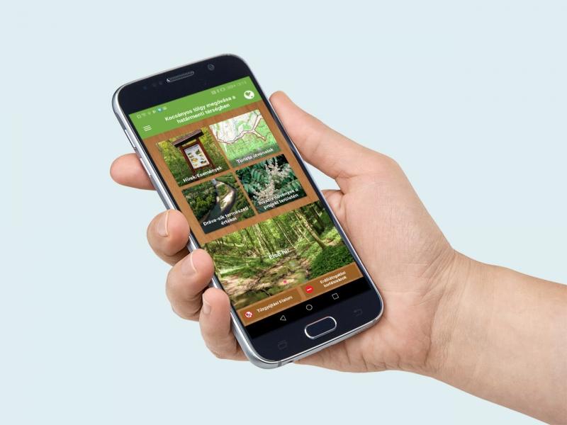 Mobil applikáció fejlesztés a Mecsekerdő Zrt. részére