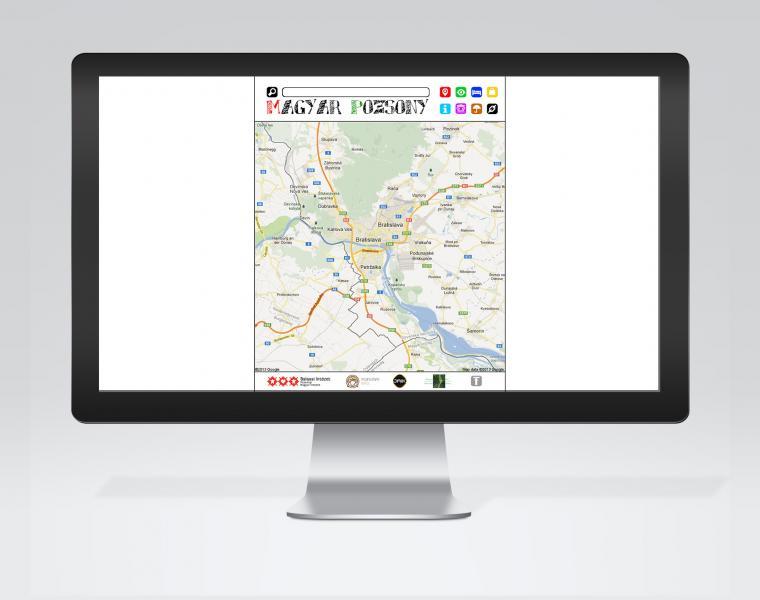 Magyar Pozsony portál fejlesztés és fenntartás