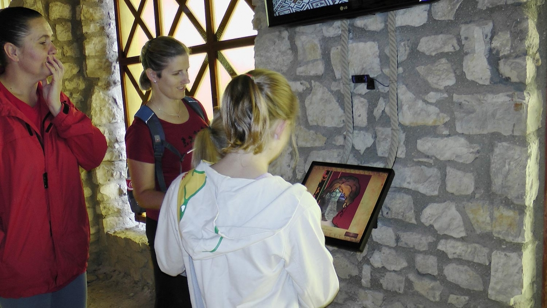 Villa Romana Baláca kiállítás multimédia és 3D film