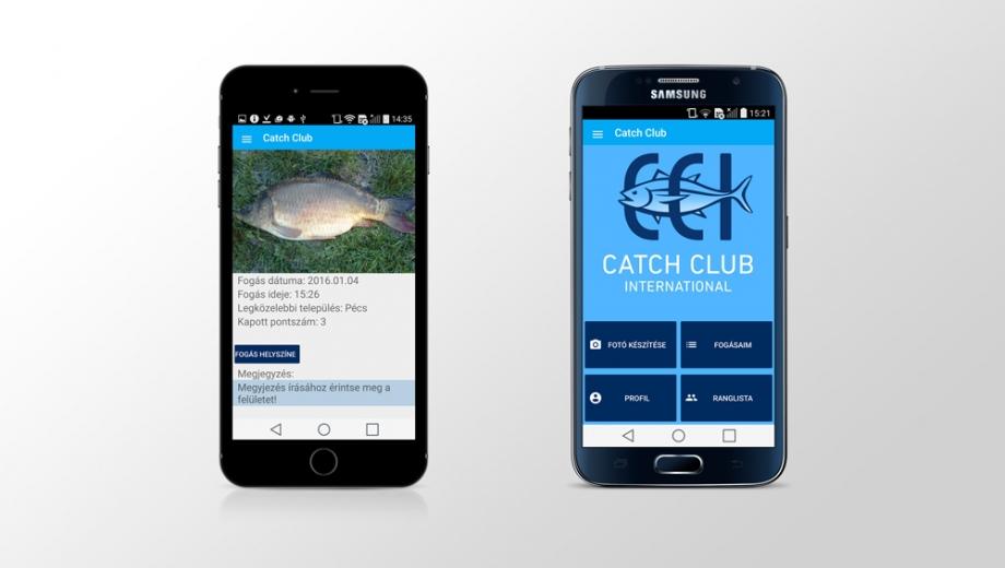 Catch Club mobil alkalmazás