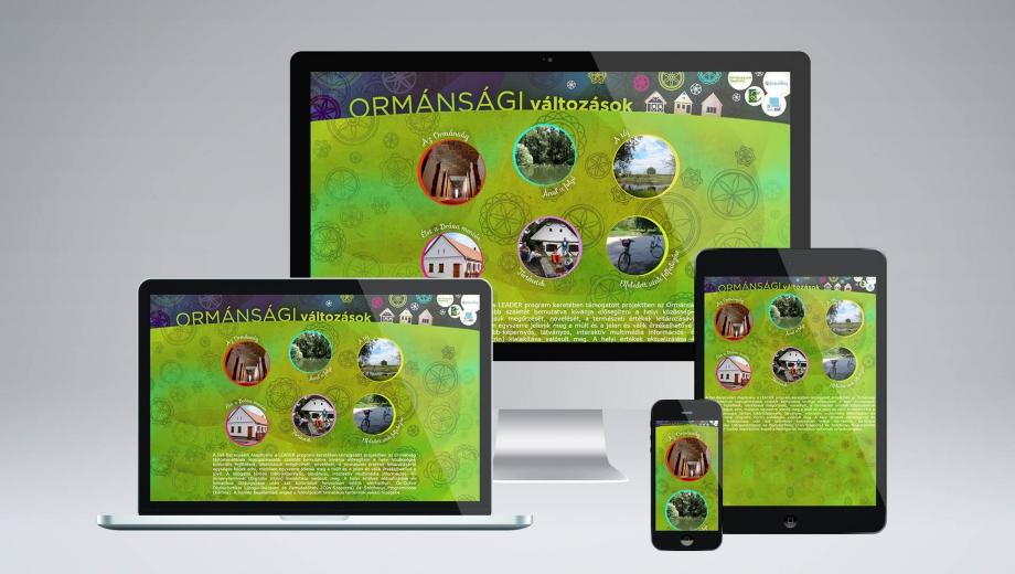 Ormánsági változások honlap