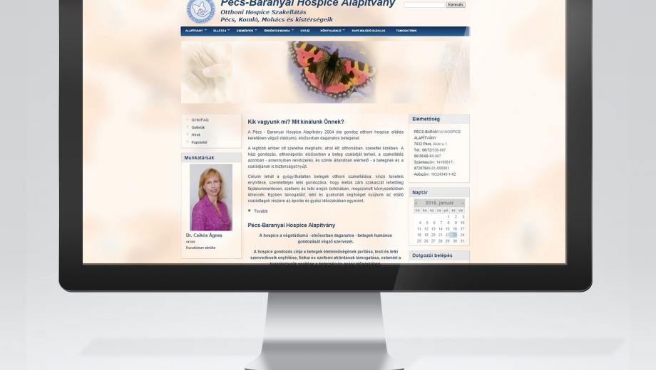 Pécs-Hospice honlap