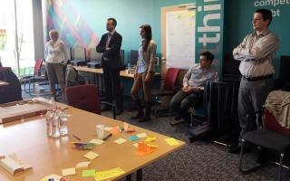 Turisztikai brainstorming az IBM Innovation Centerben