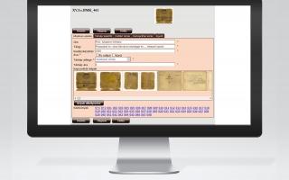 Pallium térinformatikai alapú levéltári rendszer