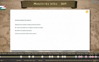 Szentgotthárd – Digitális Terepasztal szlovén verzió