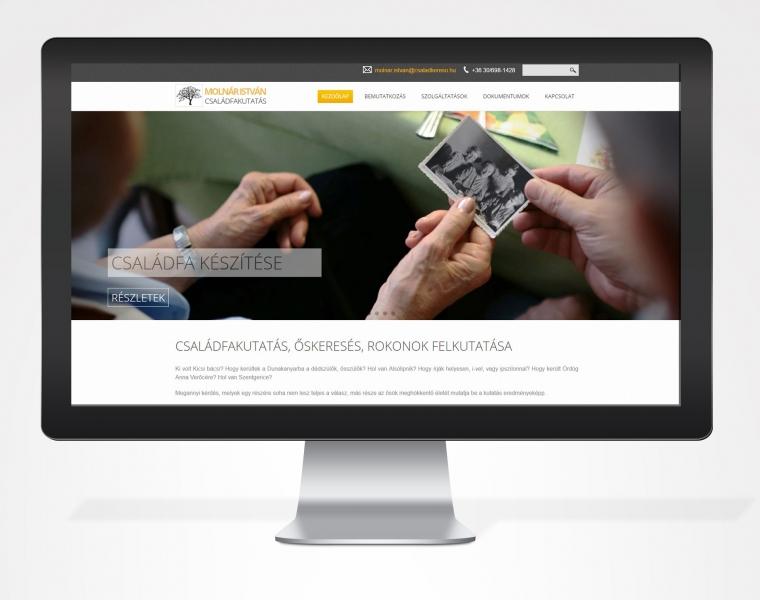Családkereső honlap