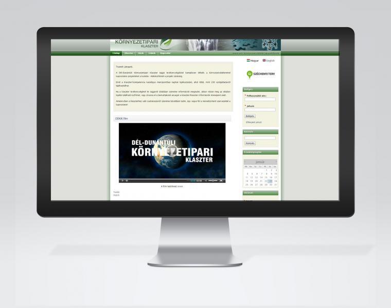 Dél-Dunántúli Környezetipari Klaszter honlap