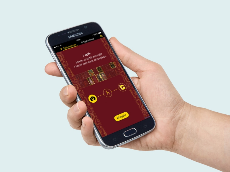 Pápa – ViTOM, Kiterjesztett valóság (AR) megoldás mobil eszközre