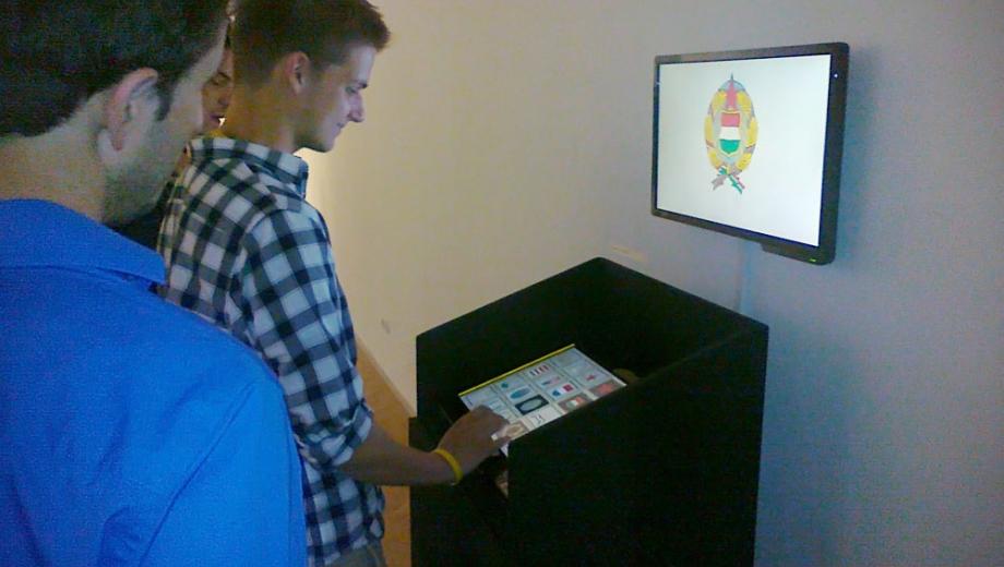 """Címerautomata"" nevű interaktív multimédia terminál"