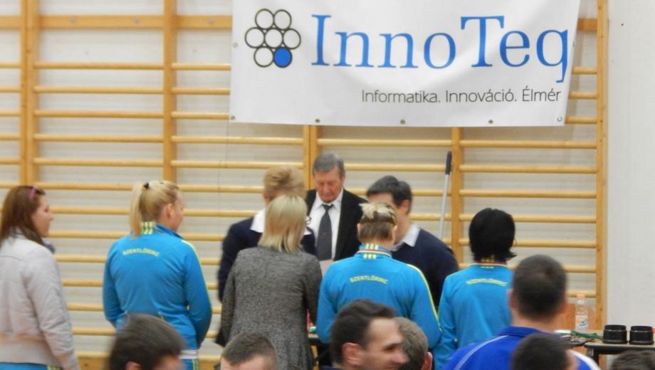 InnoTeq Téli kupa díjátadó
