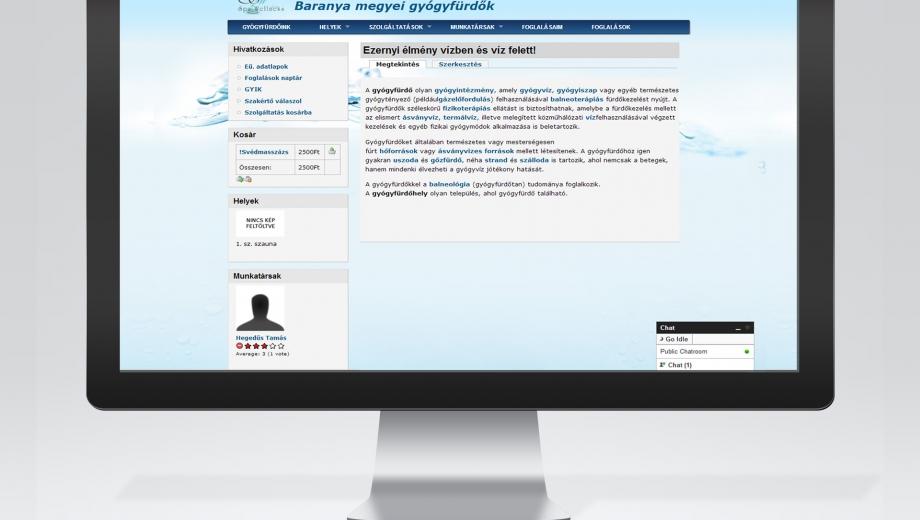 RFID alapú fürdőinformatikai rendszer